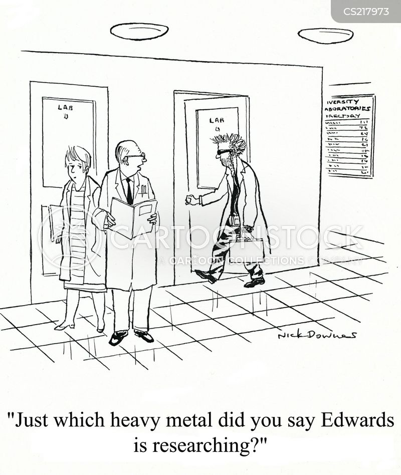 heavy metal music cartoon