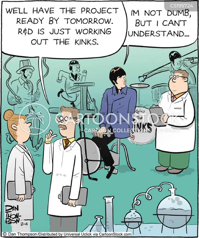 scientific researcher cartoon