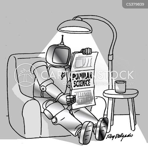 popular science cartoon