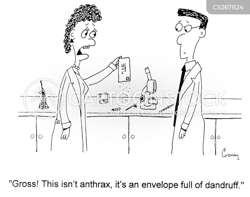 anthrax attacks cartoon