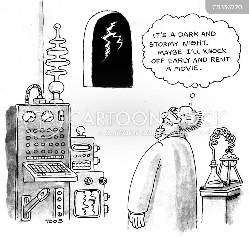 laboratory test cartoon