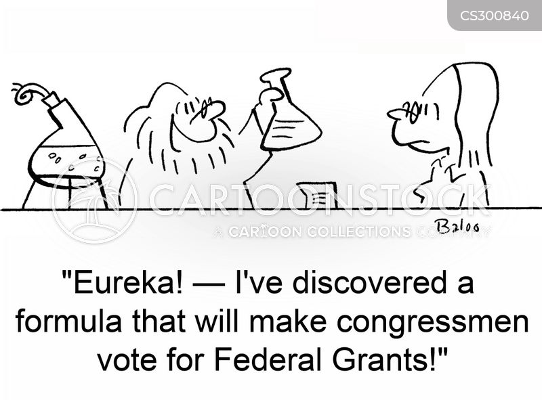 federal grants cartoon