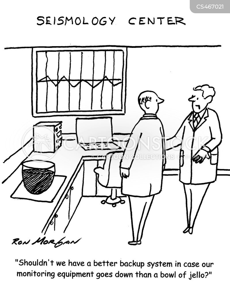 monitoring equipment cartoon