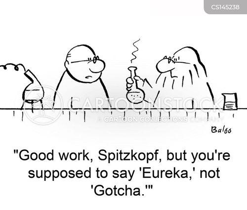 experimenttation cartoon