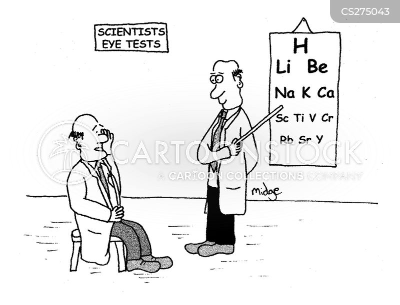 periodic table cartoon