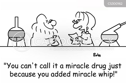 miracle drug cartoon