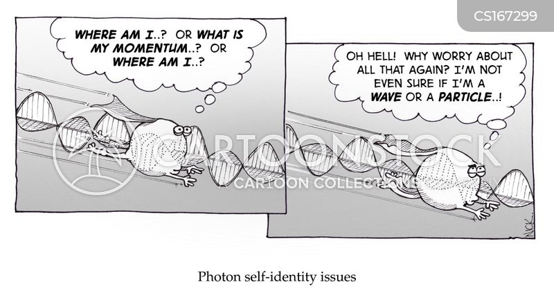 self-identity cartoon