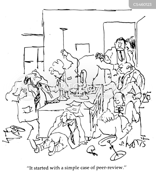 peer review cartoon