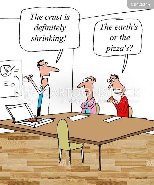 pizza crusts cartoon