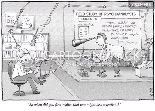 observing cartoon