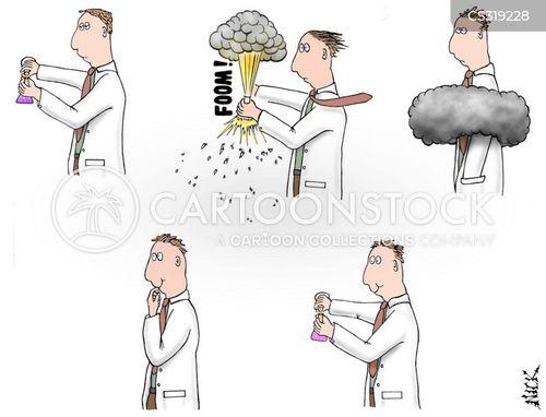 mushroom cloud cartoon