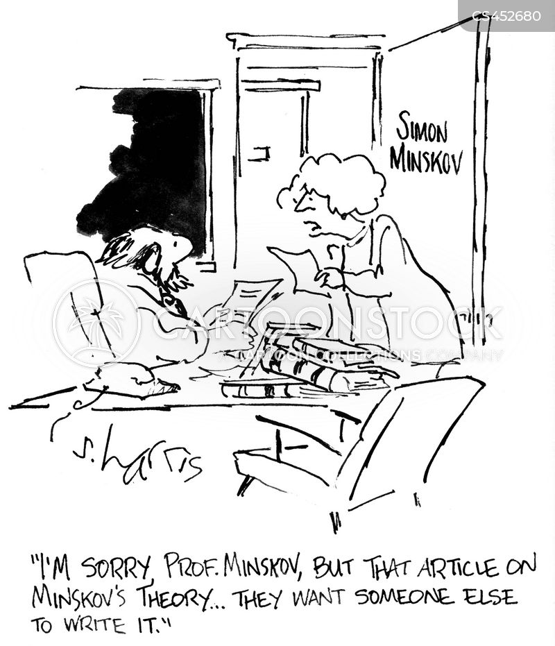 ghost writers cartoon