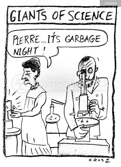 science laboratory cartoon