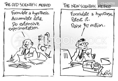 scientific methods cartoon