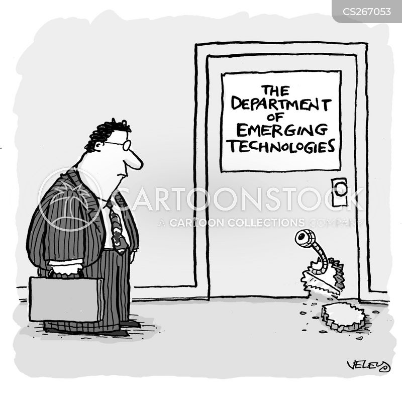 emerging technology cartoon