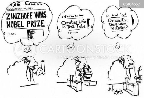 creating life cartoon