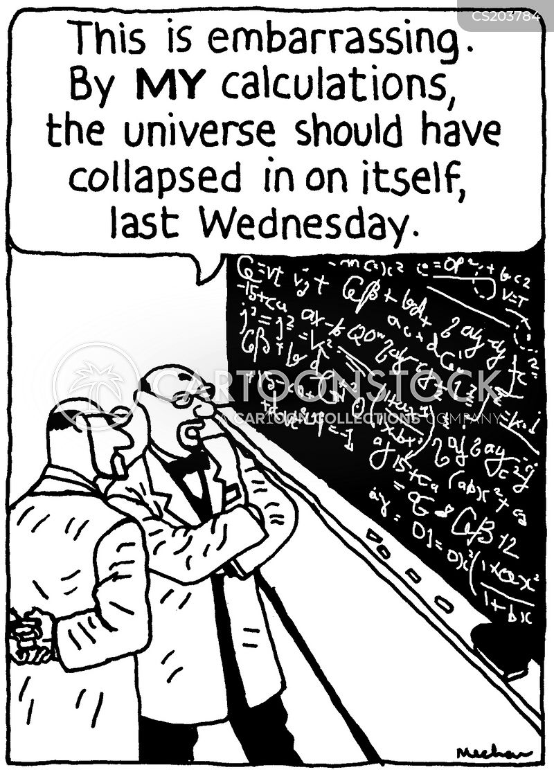 calculates cartoon