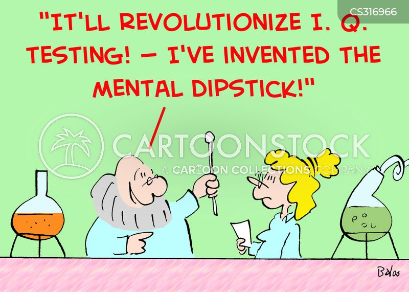 dipsticks cartoon