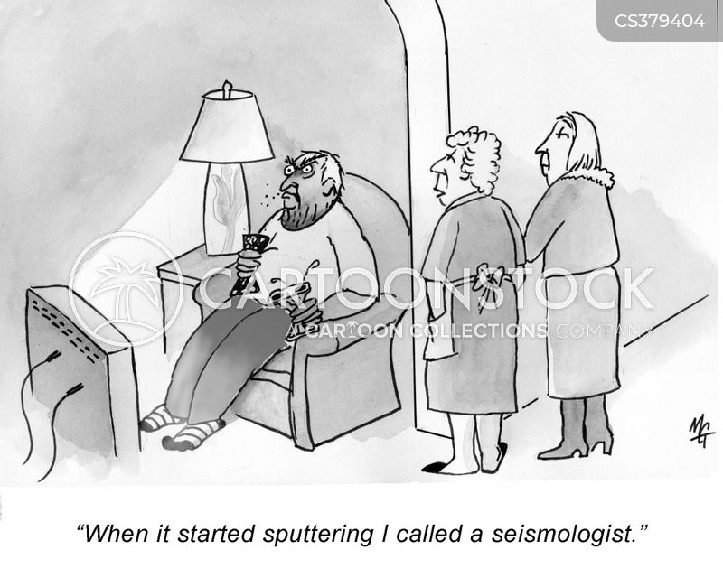 seismologist cartoon