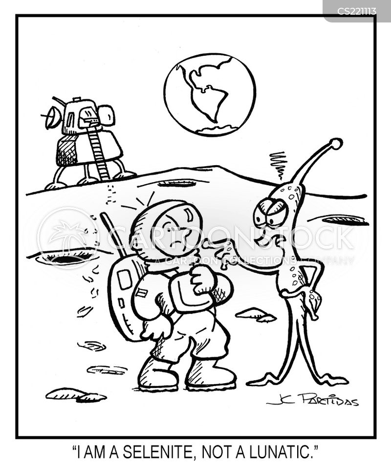 Moon Rocks Cartoons And Comics