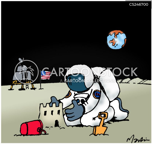 the moon cartoon