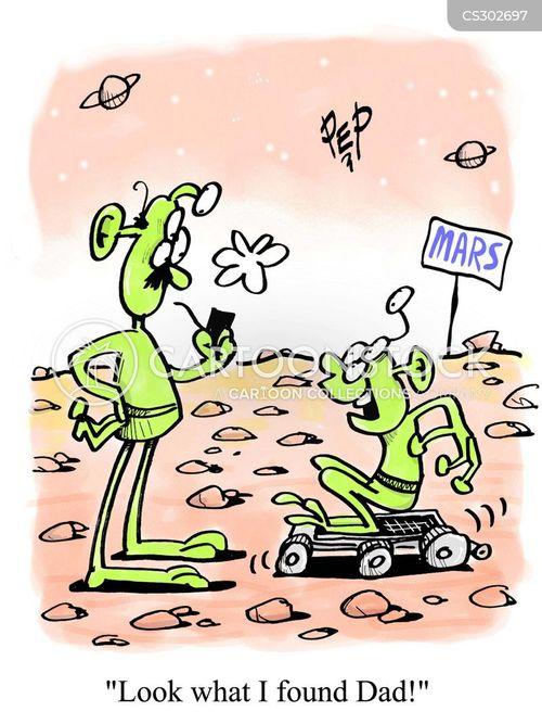 moon buggy cartoon