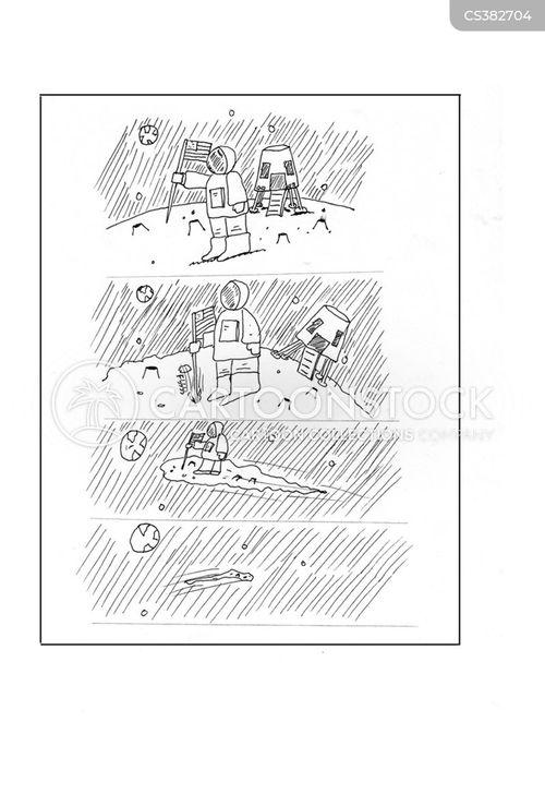conquest cartoon