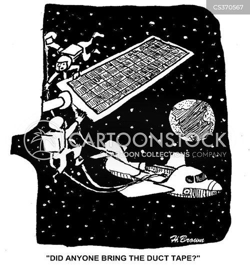 duck tape cartoon