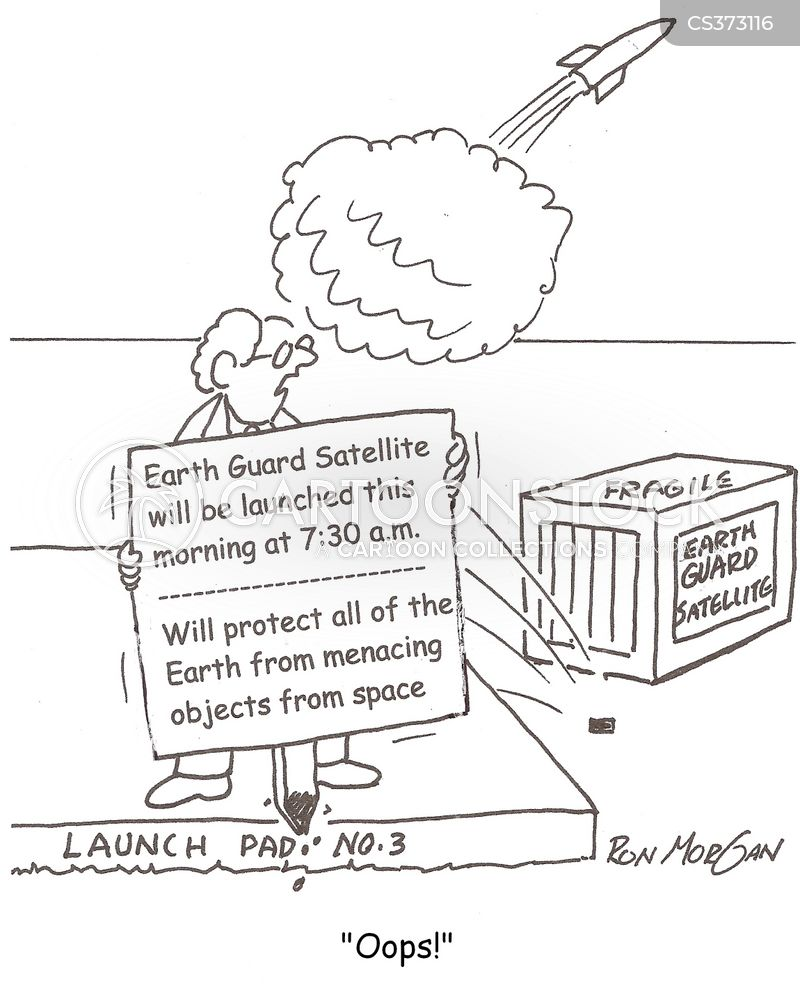 launch pad cartoon