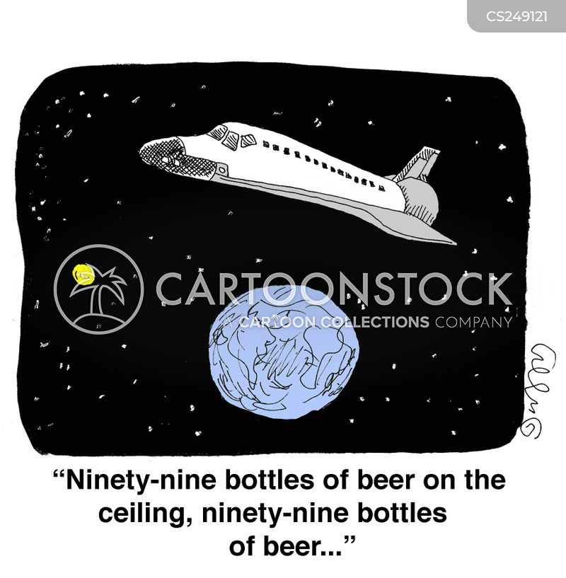 99 bottles of beer on the wall cartoon