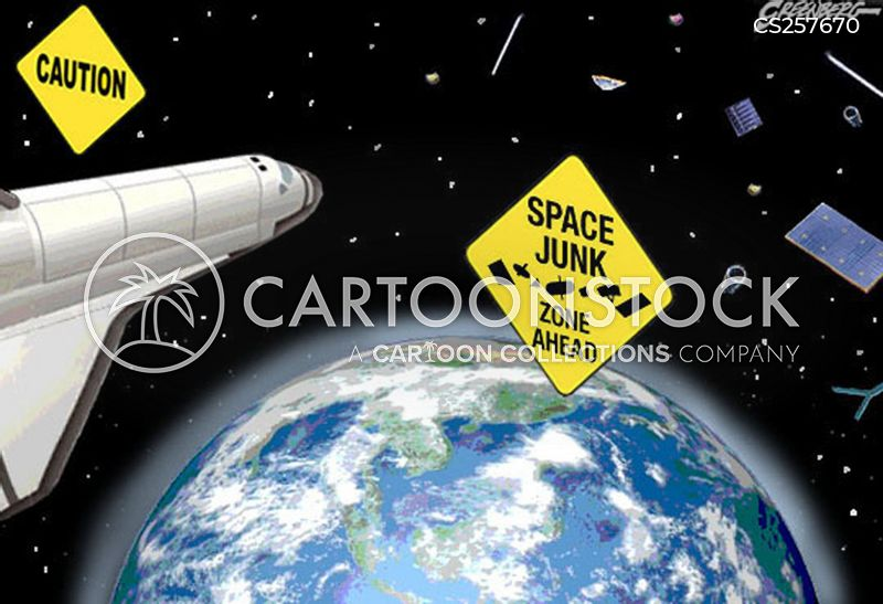 space rockets cartoon