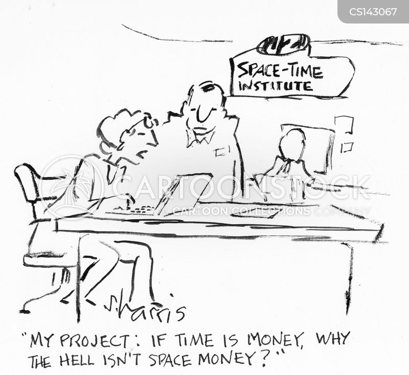 time is money cartoon