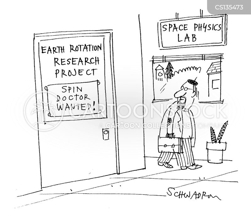 research project cartoon