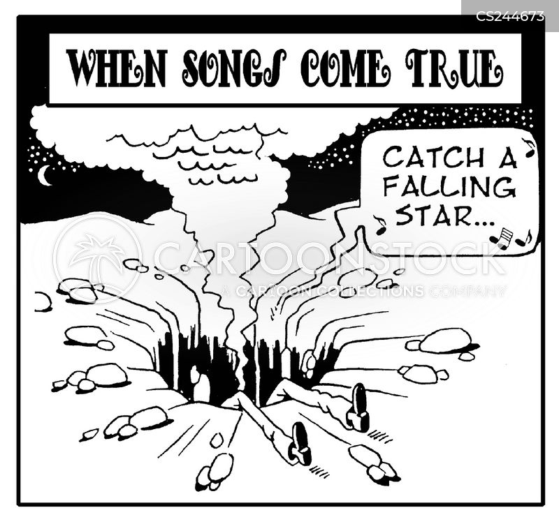 falling star cartoon