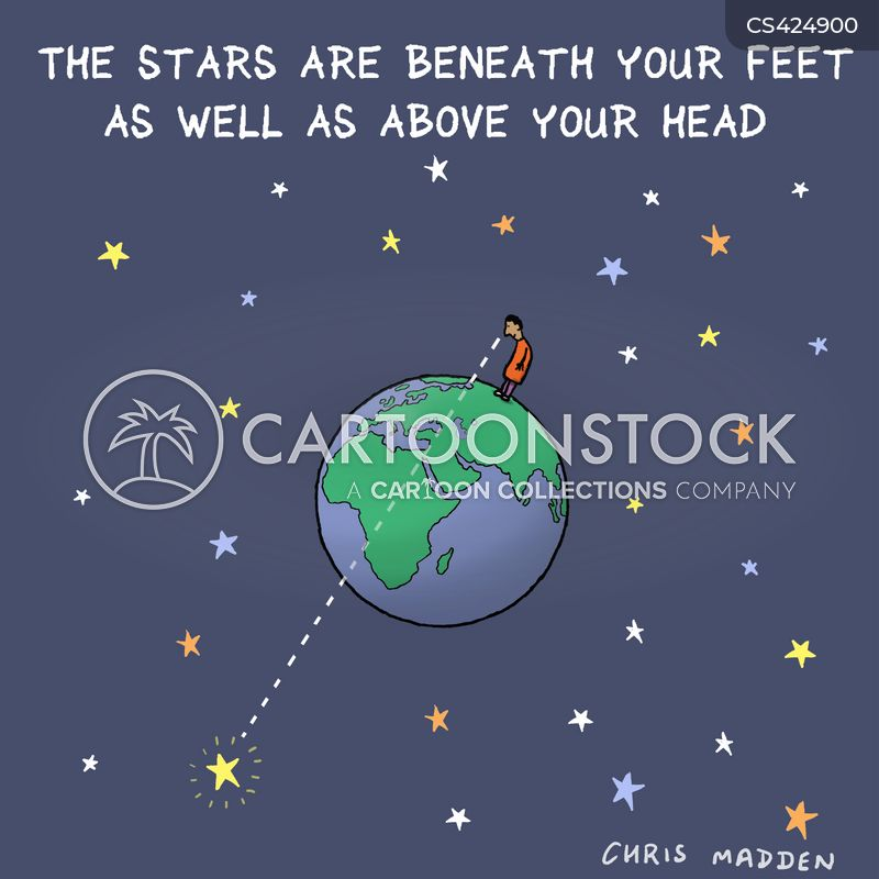 cosmic cartoon