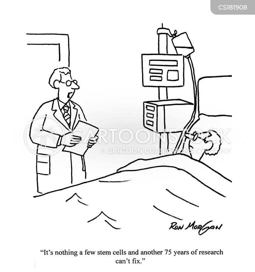 stem cell research cartoon