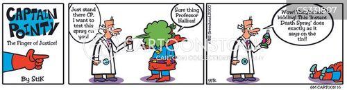 captain pointy cartoon