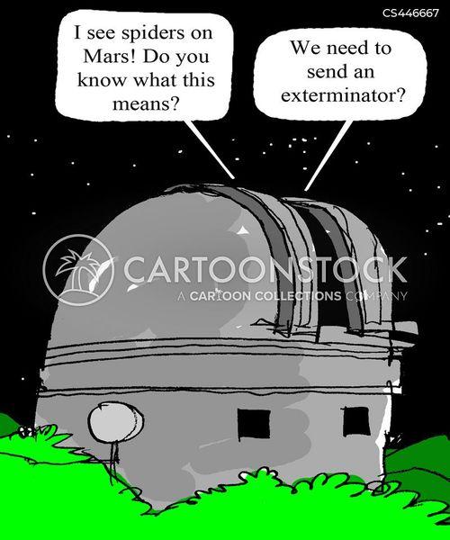 extermination cartoon