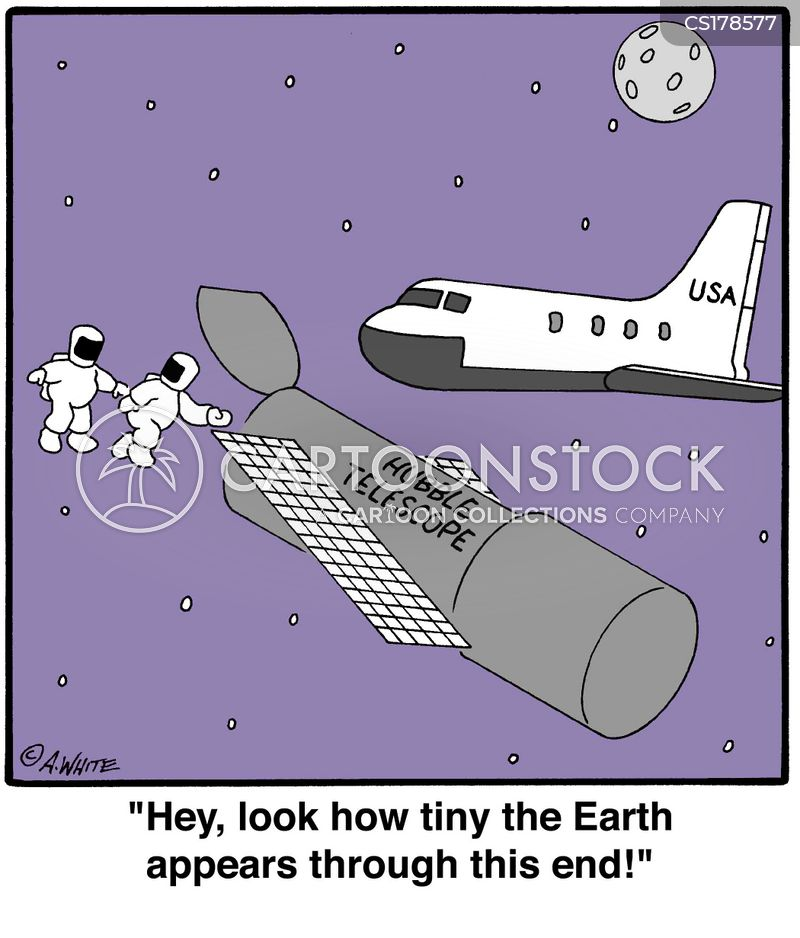 Hubble Cartoon, Hubble Cartoons, Hubble Bild, Hubble Bilder, Hubble Karikatur, Hubble Karikaturen, Hubble Illustration, Hubble Illustrationen, Hubble Witzzeichnung, Hubble Witzzeichnungen