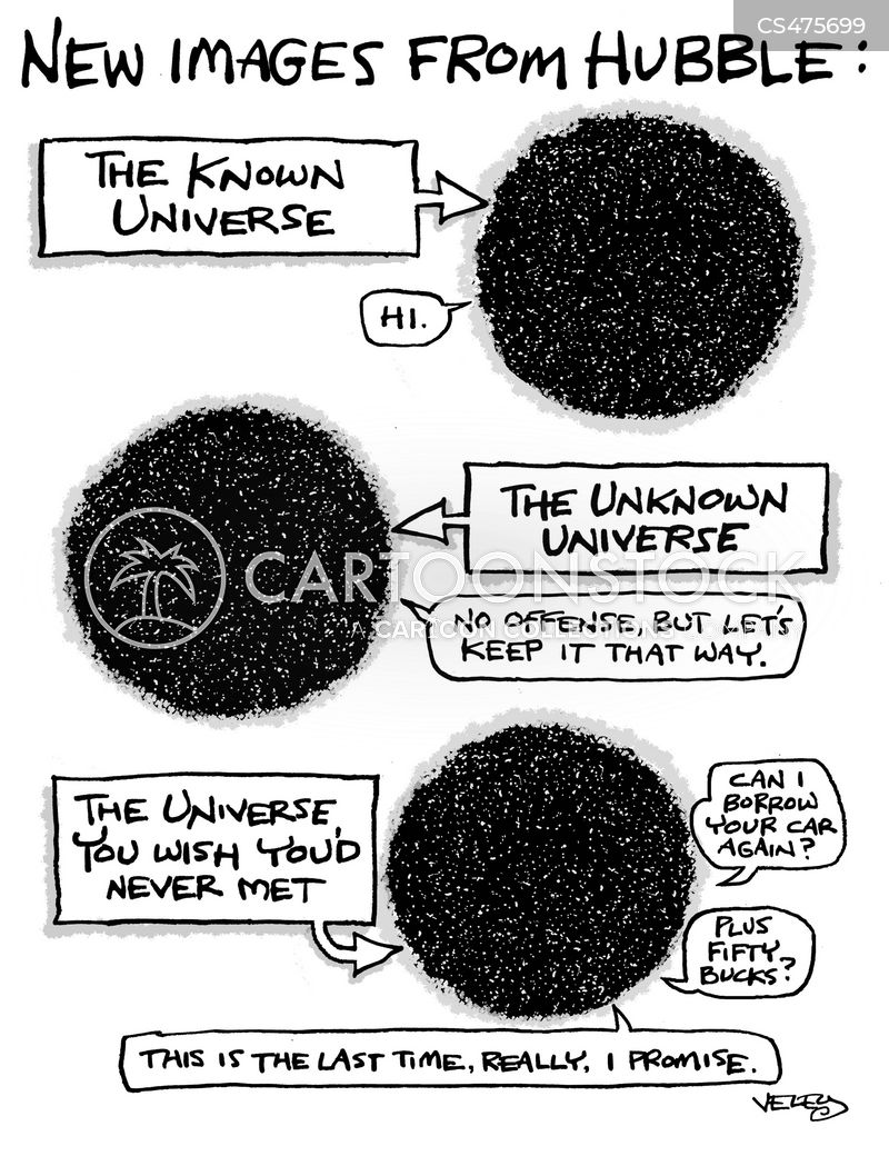 the known universe cartoon