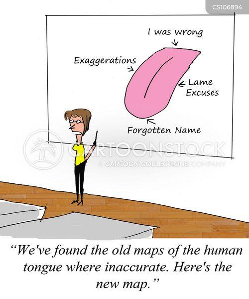 lame excuse cartoon
