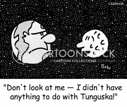 meteoroids cartoon
