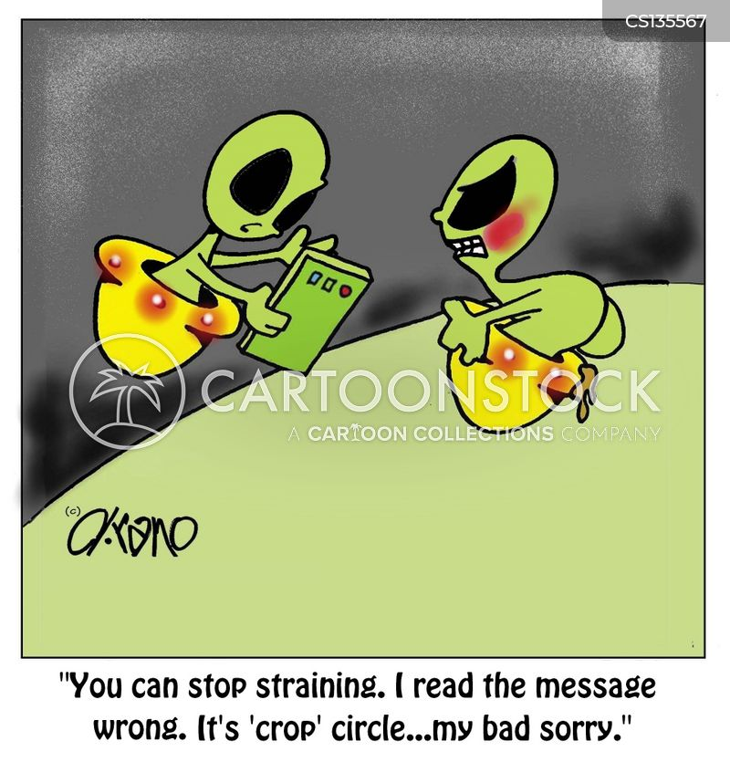 ufologist cartoon