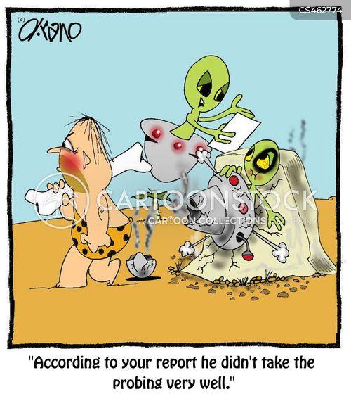 ufologists cartoon