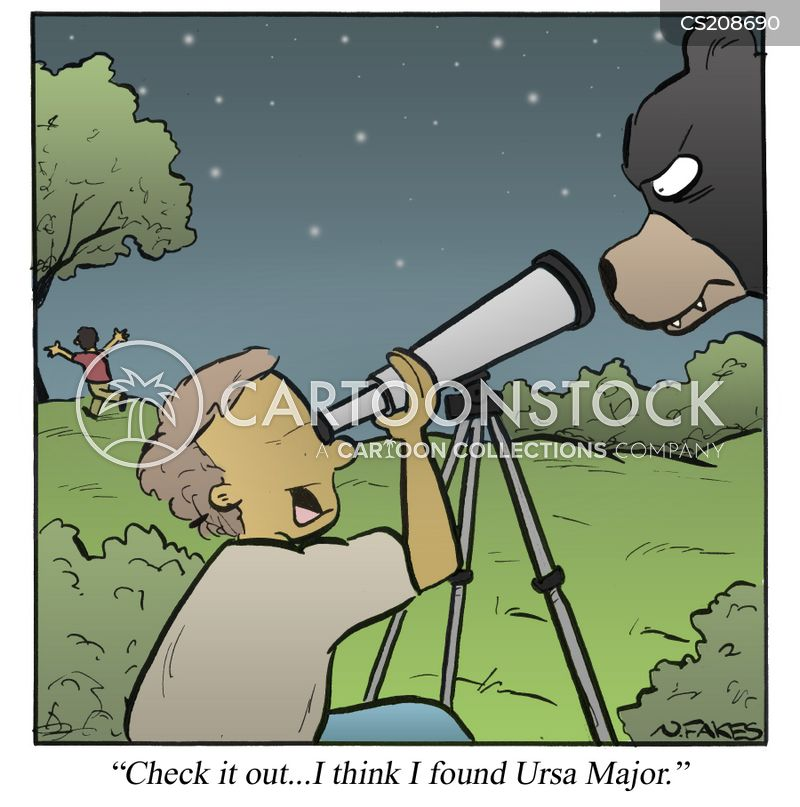 star-gazer cartoon