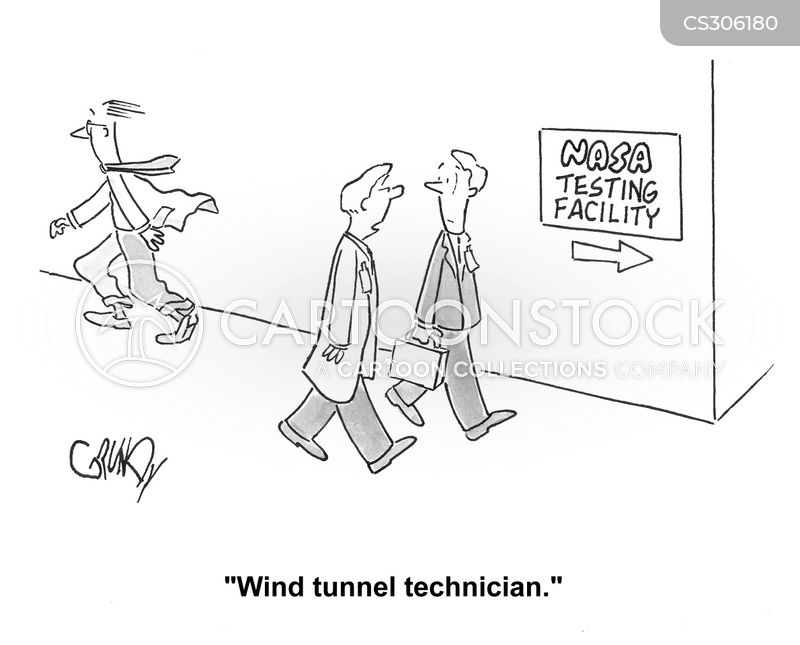 testing facility cartoon