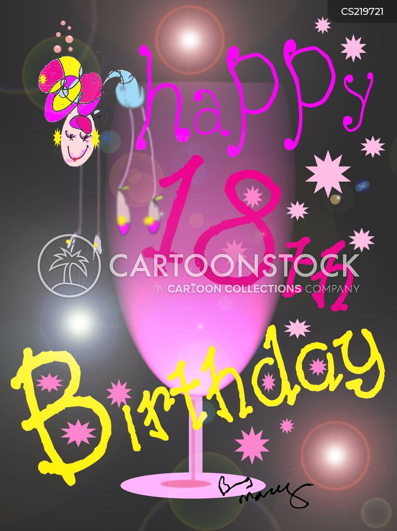 18th birthday cartoons and comics funny pictures from cartoonstock happy 18th birthday m4hsunfo