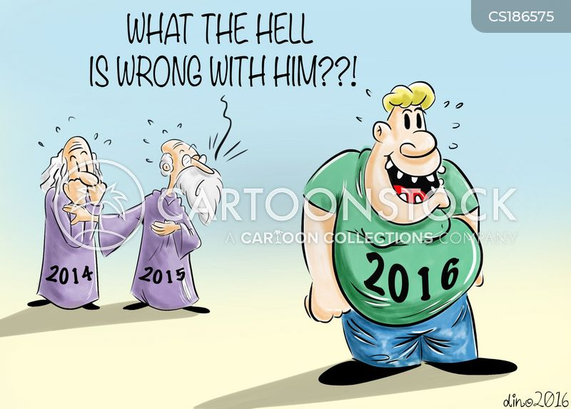 bad year cartoon