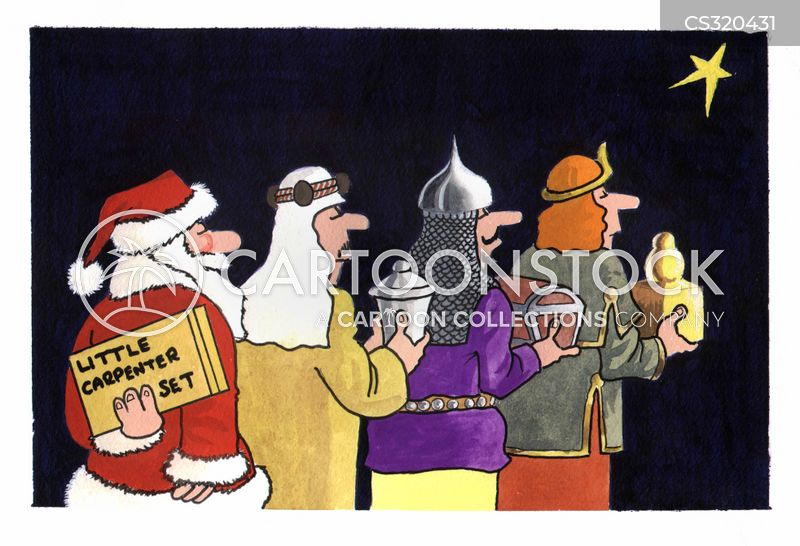 the nativity cartoon
