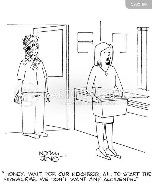 4th july cartoon